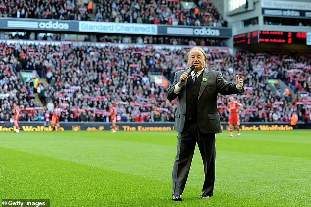 Gerry And The Pacemakers achieved fame for their chart-topping hit, You'll Never Walk Alone, in 1963, which led to the band's local football club, Liverpool FC, adopting it as one of their traditional chants [Gerry is pictured singing it in 2010]