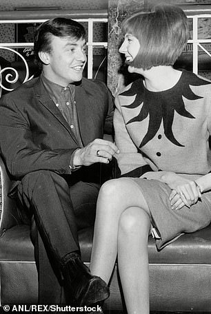 Friends: Gerry was friends with fellow Liverpudlian icon Cilla Black. They are pictured in 1964
