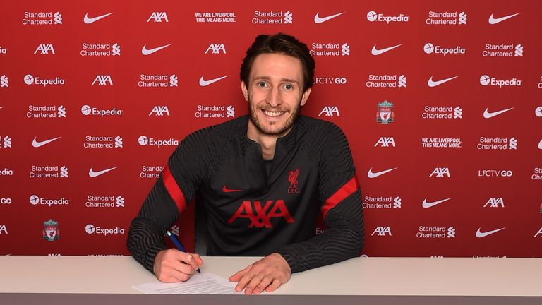 Ben Davies has signed for Liverpool